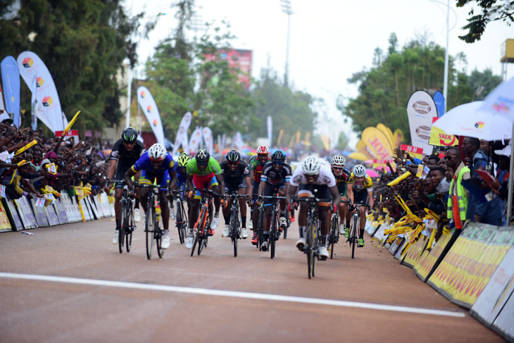 Areruya Joseph sprints to victory on stage 4