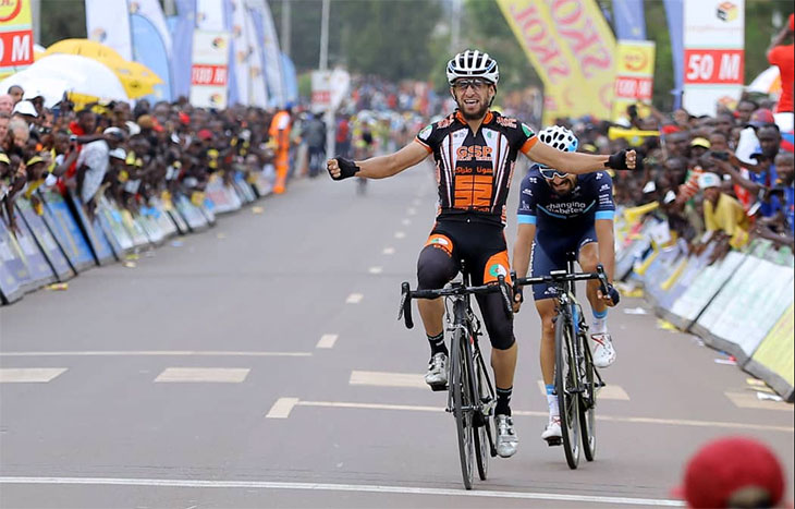 Algerian Azzedine Lagab wins stage one