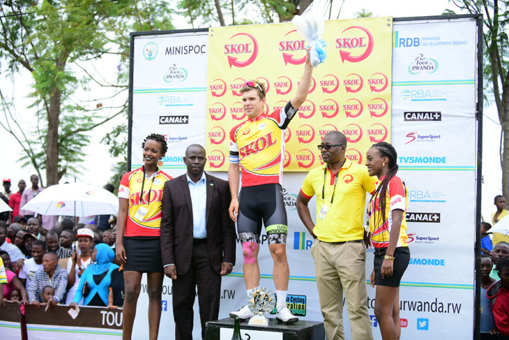 BOIVIN Guillaume wins stage 1