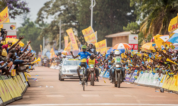 Mugisha Samuel wins stage one