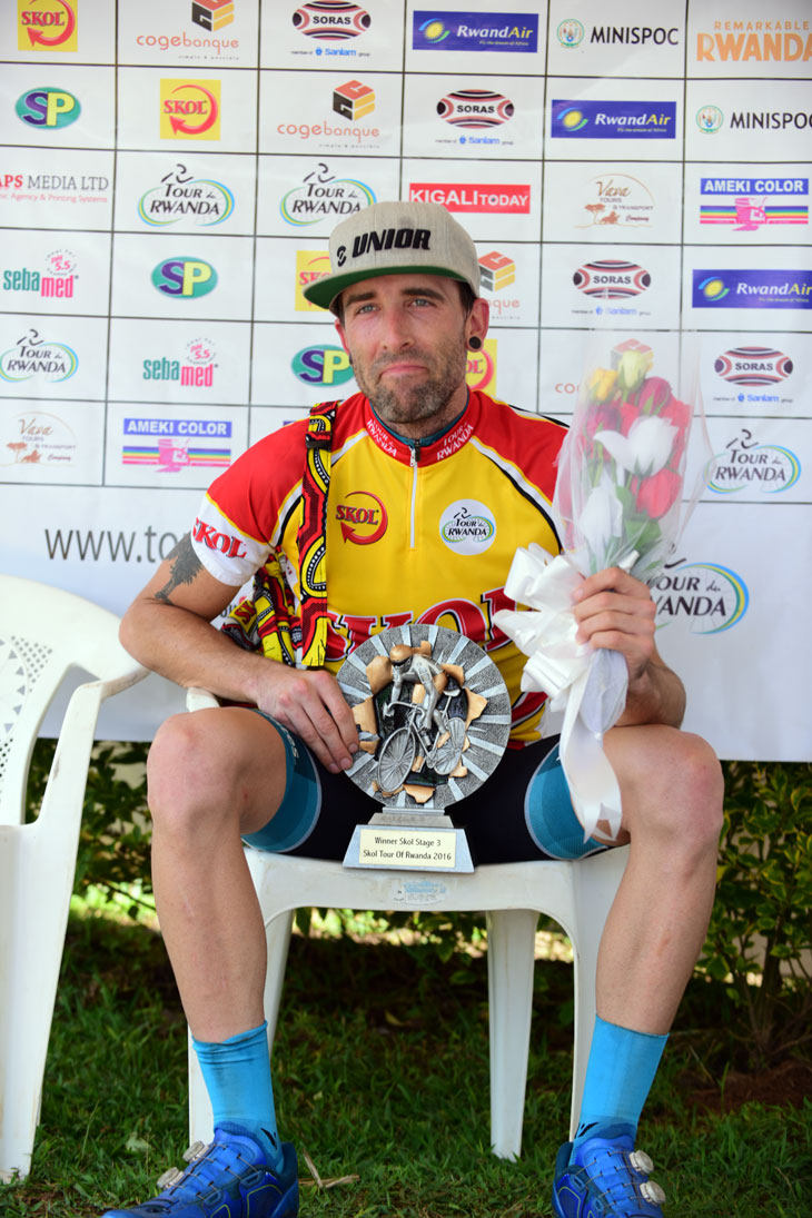 STAGE WINNER, Timothy Rugg (USA – Team Lowestrates.ca)