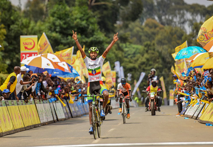 TEMALEW Bereket Desalegn wins stage five